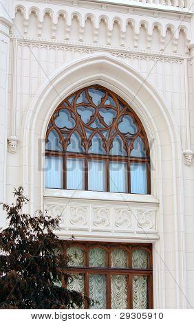 erbaut im eklektischen Stil (Detail) von der Pilsner shekhtel