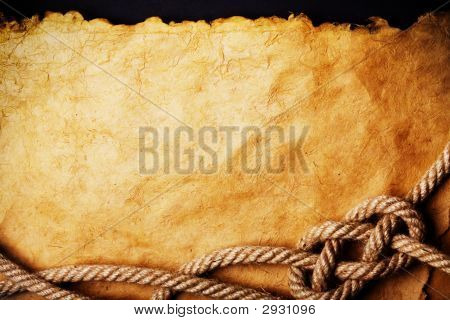 Rope On Old Paper