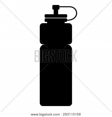 Sports Water Bottle Icon On White Background. Flat Style. Sports Water Bottle Icon For Your Web Site