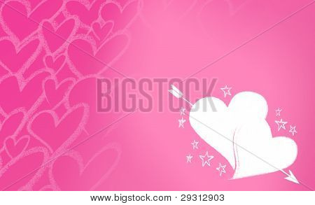 heartscupido pink