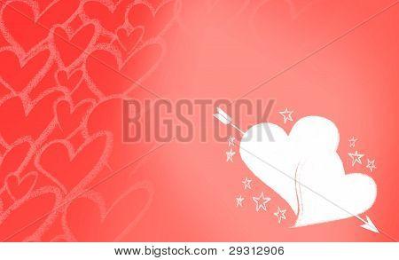 heartscupido red