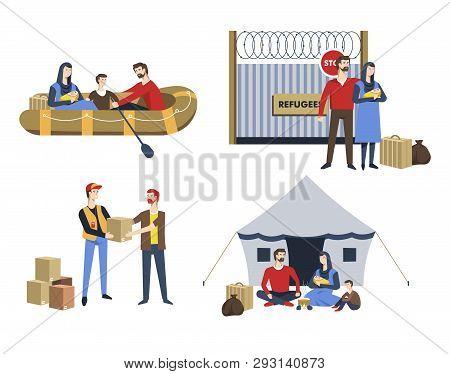 Refugees Family Illegal Immigrants Political Asylum Resettlement