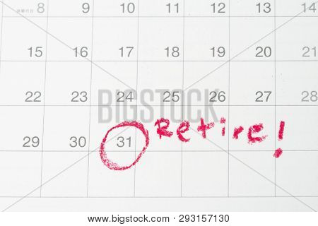 Retirement Goal Or Financial Freedom, Planning For Success Salary Man, Important Target Red Circle E