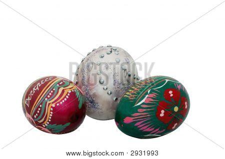 Three Easter Egg