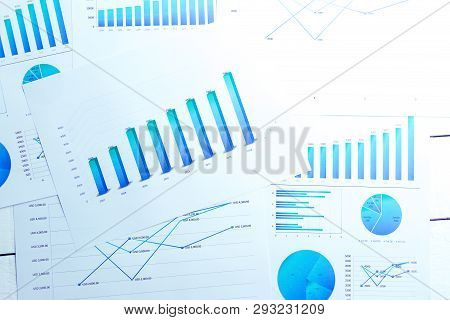 Many Charts And Graphs Reflect The Company's Concept Of Data Collection And Statistical Performance