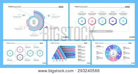Creative Business Infographic Design For Project Management Concept. Can Be Used For Business Projec