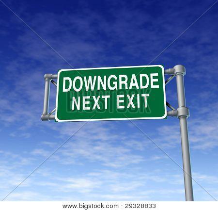 Company Downgrade