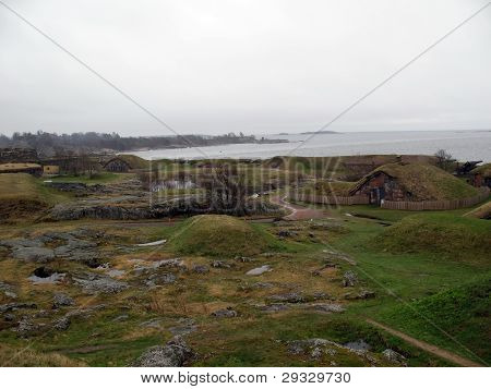 Ancient Island Fort