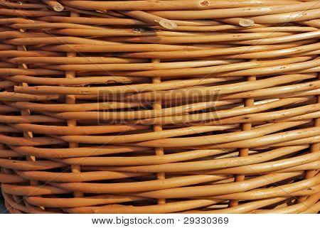 Texture Of Brown Wicker Basket