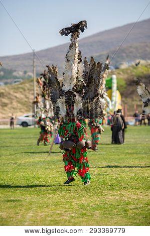 Varvara, Bulgaria - March 24, 2019: Moment From National Festival Dervish Varvara Presents Tradition