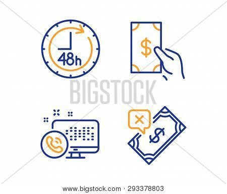 48 Hours Receive Vector Photo Free