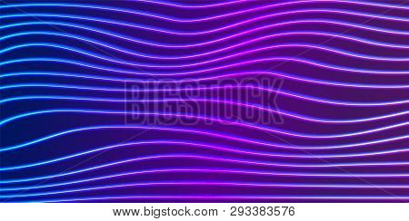 Neon Lines Background Vector & Photo (Free Trial) | Bigstock