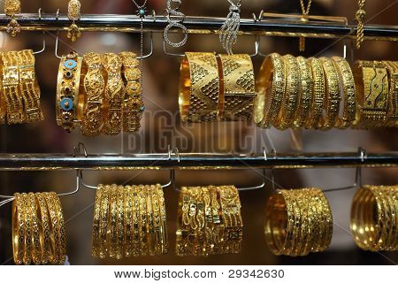 Jewelry For Sale In The Gold Souq