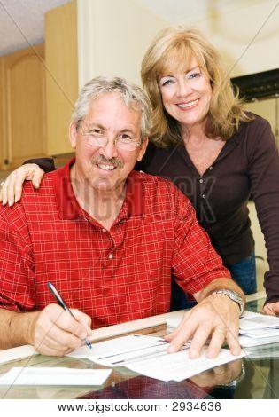finanziell sichere mündig paar