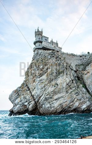 The South Coast Of Crimea. The Castle-palace