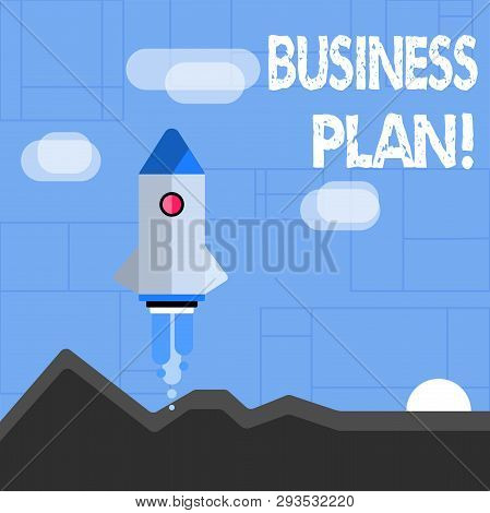Conceptual Hand Writing Showing Business Plan. Business Photo Text Setting Out Business Future Objec