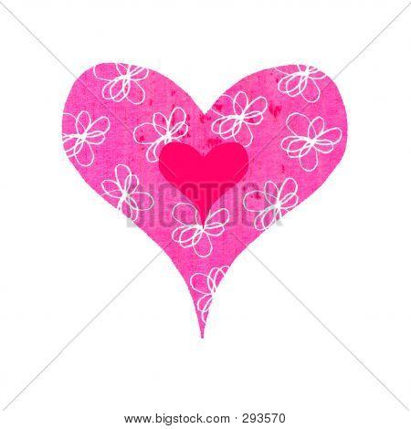 Groovy Heart - Flowery