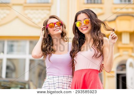 Portrait Attractive Chic Charming Trendy Fellows Fellowship Travel Students Long Hair Trip Romantic