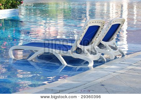 Pool With Chairs