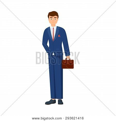 Isolated Object Of Man  And Business Icon. Collection Of Man  And Businessperson  Stock Symbol For W