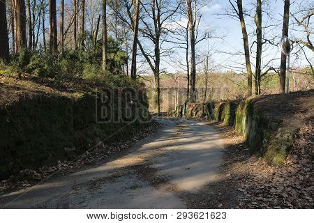 Path Leading To Karba Village In Machuv Kraj Tourist Area
