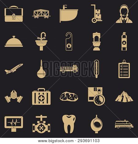 Making Things Icons Set. Simple Set Of 25 Making Things Vector Icons For Web For Any Design