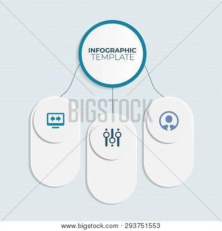 Concept Graphic Element. Concept Business Strategy. Infochart, Diagram Timeline Infographic Template