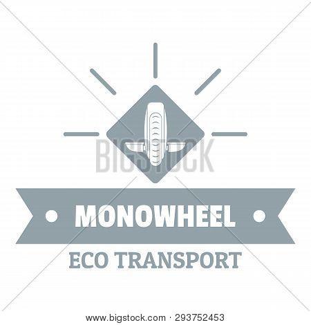 Lifestyle Mono Wheel Logo. Simple Illustration Of Lifestyle Mono Wheel Logo For Web