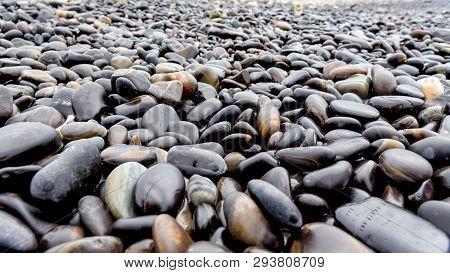 Unusual Beautiful Nature Landscape Of Rock Near The Sea At Ko Hin Ngam Island Is A Famous Tourist At