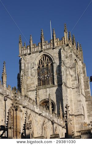 St. Mary's parish church tower, Beverley, England