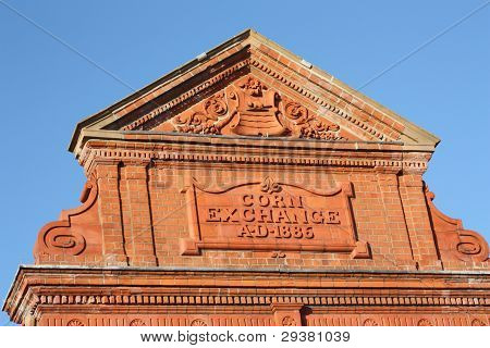 Detail from corn exchange