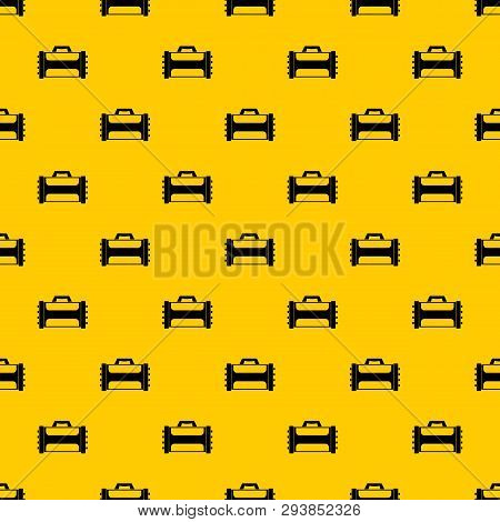 Welding Machine Pattern Seamless Vector Repeat Geometric Yellow For Any Design