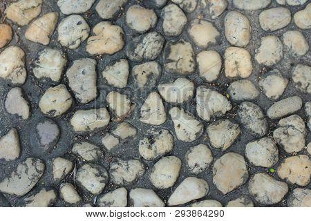 Stone Wall Texture Photo Stone Background Stone Floor Texture White Stone Floor In The Garden White
