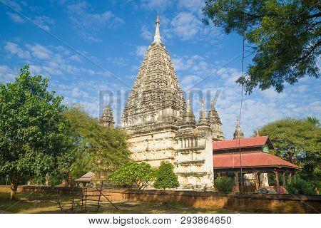 Mahabodhi Paya Is An Ancient Hindu Temple In Bagan. Myanmar (burma)