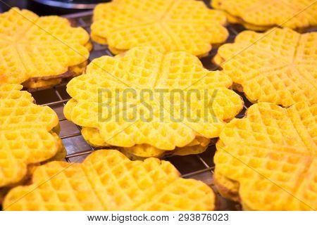 Yellow Waffles