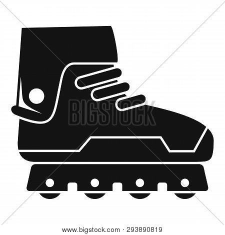 Professional Inline Skates Icon. Simple Illustration Of Professional Inline Skates Vector Icon For W