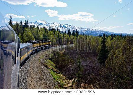 Train Through Alaska