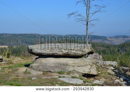 Natural Curiosity, A Stone Table, South Bohemia, Czech Republic