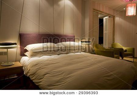 Night scene in bedroom