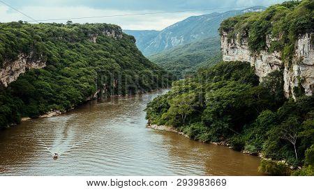Top Of Sumidero Canyon Near Tuxtla Gutierrez In Chiapas, Mexico