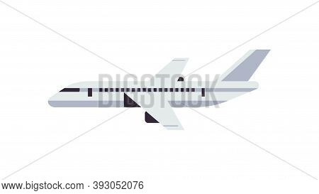 Airplane Icon Air Cargo And Parcels Airmail Product Goods Shipping Express Delivery Service Concept