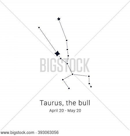 Taurus, The Bull. Constellation And The Date Of Birth Range