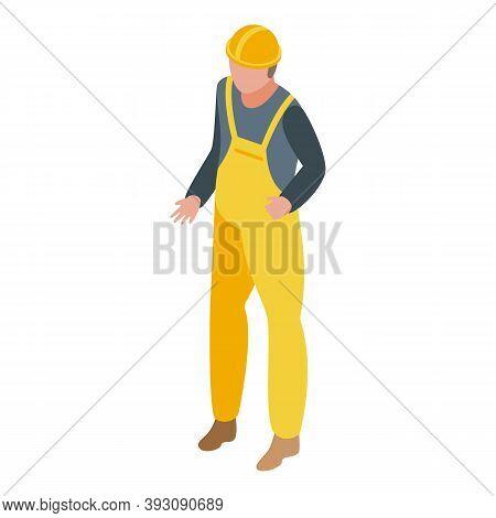 Constructor Student Job Icon. Isometric Of Constructor Student Job Vector Icon For Web Design Isolat