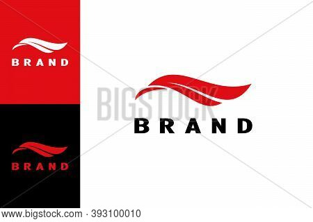 This Logo Has Two Side Faces. When Seen Facing Left, Will Be The Head Of The Eagle. If To The Right,