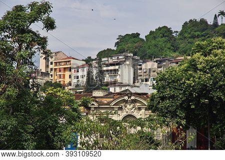 Rio De Janeiro, Brazil - 07 May 2016: Favelas In Rio De Janeiro, Brazil