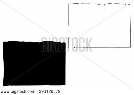 Orleans County, New York State (u.s. County, United States Of America, Usa, U.s., Us) Map Vector Ill