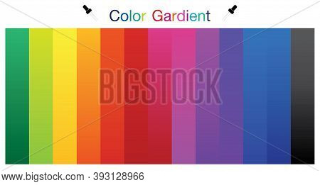 Complementary Colors Are Opposite Each Other. Vector Graphic Illustration Guide.