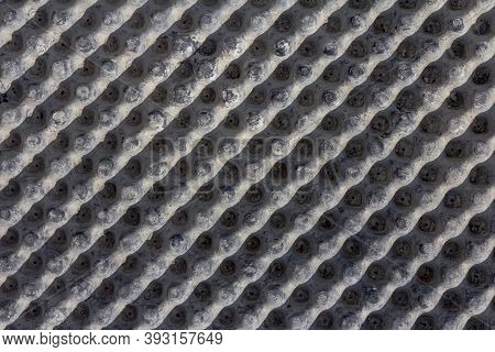 Industrial Background. Material For Waterproofing Close-up. The Use Of Modern Technologies For Water