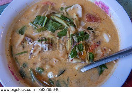 Thai Cuisine With Shrimps