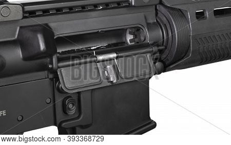 Assault Rifle Chamber That Does Not Have Ammunition Inserted